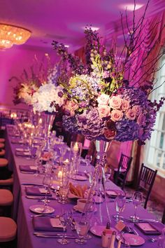 Get Inspired: 12 Amazing Purple Wedding Ideas. To see more: http://www.modwedding.com/2013/12/26/purple-wedding-ideas/