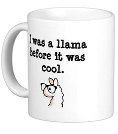 """""""I was a llama before it was cool."""""""
