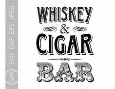 Vintage Wine, Vintage Bar, Vintage Design, Whisky, Cigars And Whiskey, Silhouette Studio Designer Edition, Cigar Party, Bourbon Bar, Bar Art