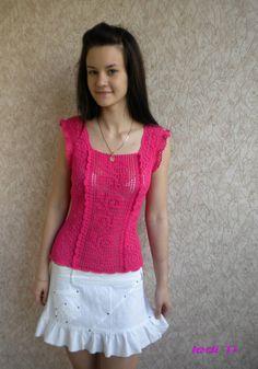 Crochet blouse    ledi-ti