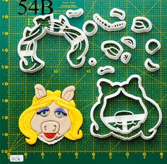 Miss Piggy Cookie Cutter miss piggy costume,miss piggy shirt