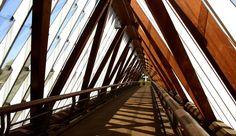 Puente de madera de Remseck, Alemania, 1998