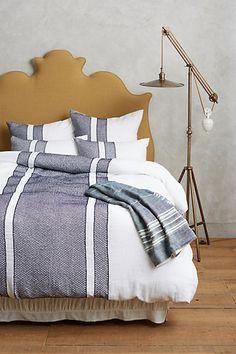 rustic linen blanket #anthrofave #homedecor