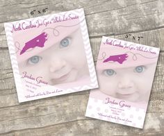 Cute US States birth announcement on Etsy, $15.00