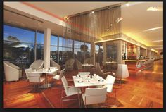 Central One, Restaurant and Bar.  Radisson, Gautrain.  Great food, amazing view of Sandton CBD (especially at night!)