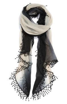 La Fiorentina Ombré Cashmere Scarf available at Nordstrom Fashion Beauty, Womens Fashion, Style Fashion, Fashion News, Nordstrom, Cute Scarfs, Cashmere Scarf, Scarf Styles, Swagg
