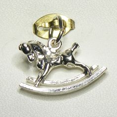 Buy Rocking Horse Charm (chr-0078) online at Chain Me Up