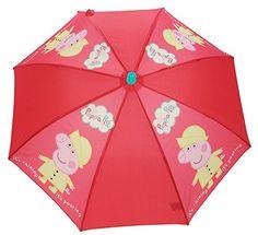 Peppa Pig Paragua clásico, rojo (Rojo) - PEPPA005090 - http://comprarparaguas.com/baratos/de-colores/rojo/peppa-pig-paragua-clasico-rojo-rojo-peppa005090/