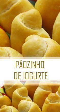 Receita fácil e deliciosa de Pãozinho de iogurte | Ideal para o lanche | Pão caseiro | #receita #comida #pão #diy
