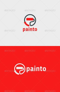 Painto Logo   #GraphicRiver         Painto Logo  	 A simple logo template suitable for a painter, home renovation, painting service, company, etc.  	 Features: - Vector format - File format : EPS, PDF and SVG in RGB - Easy editable scale and color                     Created: 2 December 13                    Graphics Files Included:   Vector EPS                   Layered:   No                   Minimum Adobe CS Version:   CS                   Resolution: