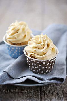 Cupcakes noix de pécan et sirop d'érable
