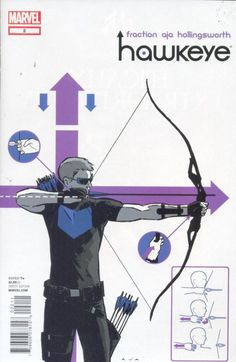 Hawkeye is a great comic, and this is basically my all time favorite comic cover. Aja, you're a star.