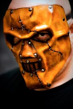 Custom Horror Leather Mask by OsborneArts.deviantart.com on @deviantART
