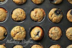 Almond Flour Blueberry Muffins D-f, G-F