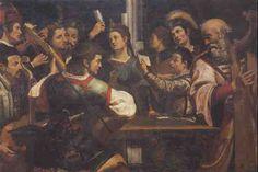 Michelangelo Carravagio - concerto Music in Paintings