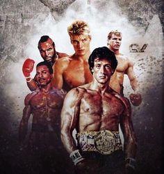 Rocky and Rivals Rocky Balboa Movie, Rocky Balboa Poster, Rocky Balboa Quotes, Rocky Poster, Rocky Film, Brigitte Nielsen Sylvester Stallone, Sylvester Stallone Young, Sylvester Stallone Quotes, Silvestre Stallone