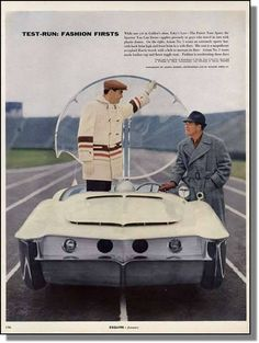 "Richard Arbib's 1956 ""Astra-Gnome: Time and Space Car Concept"" – The Future is Now. http://www.forgottenfiberglass.com/designers/designers-extraordinaire/richard-arbib/richard-arbib%E2%80%99s-1956-%E2%80%9Castra-gnome-time-and-space-car%E2%80%9D-%E2%80%93-the-future-is-now/"