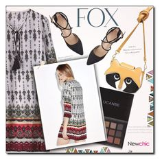 """""""Foxy (NewChic)"""" by selena-gomezlover ❤ liked on Polyvore"""