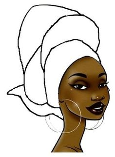 Coloriage masque africain n 2 afrika pinterest - Dessin femme africaine coloriage ...