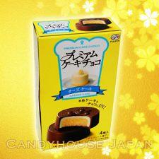 Japan Fujiya PREMIUM CAKE CHOCO Cheesecake Japanese snack