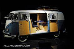 Volkswagen Micro Bus Camper 1961  Blackhawk Museum  Danville, California, 2011