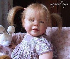 Reborn Doll Baby Girl Toddler Katie-Marie - Ann Timmerman