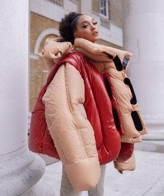 "Jourdan Dunn on Instagram: ""Winter is coming 🥶"" Future Girlfriend, Jourdan Dunn, Kanye West, Fashion Pants, Canada Goose Jackets, Editorial Fashion, Runway Fashion, Fashion Photography, Women Wear"