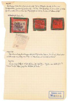 Manuscrito Walter Benjamin