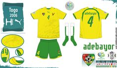 Togo - Home Jersey (2006)