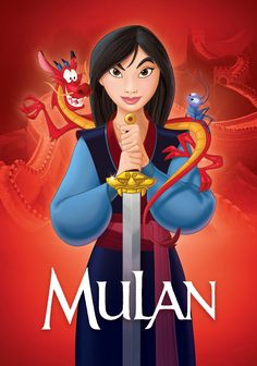 Mulan with Mushu and Cri-Kee Disney Films, Disney E Dreamworks, Disney Movies To Watch, Disney Pixar, Disney Characters, Watch Mulan, Mushu Mulan, Mulan Ii, Walt Disney Animation