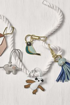 Looking for a little something for mom this Mother's Day? Bag charms make (adorably) great gifts!