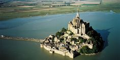 Located in Normandy, Mont Saint-Michel is one of France's most recognizable landmarks. The small, rocky, medieval-walled island known as Mont Saint-Michel is classified as a UNESCO world heritage site. The city is also the inspiration for Rapunzel's parents' castle in Tangled. Why see Mont Saint-Michel? Medieval architecture, religious monuments and French culture.