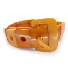 Bakelite Buckle Bracelet