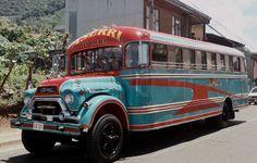 GMC Bus clásico de Costa Rica Ruta Aserrí-San José