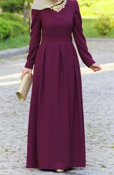 Hijab Evening Dress, Hijab Dress Party, Muslim Women Fashion, Islamic Fashion, Habits Musulmans, Abaya Fashion, Fashion Outfits, Hijab Fashionista, Hijab Fashion Inspiration