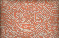2-я пол. ХIХ в.  Материал, техника: краска масляная, нить х/бумажная, ткачество, набойка