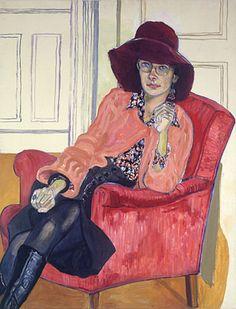 Alice Neel (American: 1900-1984) -  Susan Rossen (1976)