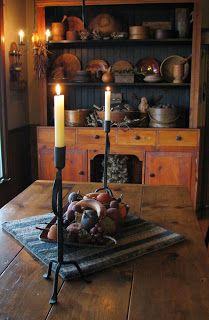 photo of primitive homes inside cave Primitive Homes, Primitive Dining Rooms, Primitive Furniture, Primitive Kitchen, Primitive Antiques, Country Primitive, Country Kitchen, Country Furniture, Country Homes