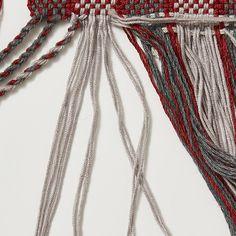 twisting fringe and finishing without hemstitching