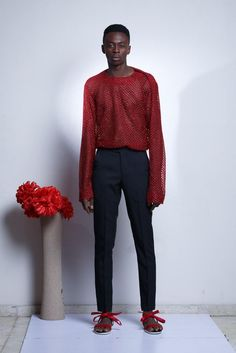 Nigeria's T.I Nathan Presents His Collection for 2016, Soliloquy | Lagos Fashion & Design Week - #Menswear #Trends #Tendencias #Moda Hombre