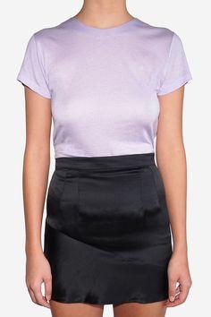 THE FASHION CLUB ‐ Home Lilac Crew-Neck T-Shirt