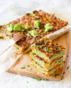 Leah Itsines& BARE zucchini and sweet potato slice - Snacks - Vegetable Slice, Vegetable Recipes, Vegetarian Recipes, Healthy Zucchini Slice, Dairy Free Zucchini Slice, Zuchinni Slice, Sweet Potato Recipes Healthy, Healthy Recipes, Healthy Cooking