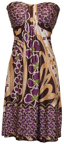 http://amzn.to/H3lPYc       Flattering sundress!       #PacificPlex Asian Floral Halter Dress Knee-Length, Black Multi, #X-Large