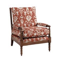 Our Shiloh Spool Chair offers deep seat comfort framed with rich vintage texture. Hardwood frame features thick poly-foam seat and back for give and support. Spool Chair, Upholstered Swivel Chairs, Ottoman Bench, Shiloh, Engineered Hardwood, Ballard Designs, Seat Cushions, Outdoor Chairs, Accent Chairs