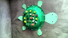 Khloe's turtle craft.