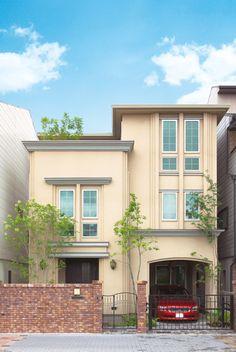 「洋館」をイメージしてつくりあげた美しい外観の家
