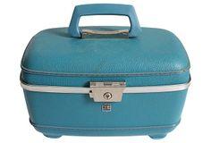 US Luggage Turquoise Travel Case on OneKingsLane.com