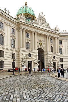 Imperial Palace, Vienna, Austria This is the home of The Spanish Riding School and has been for 400 years.
