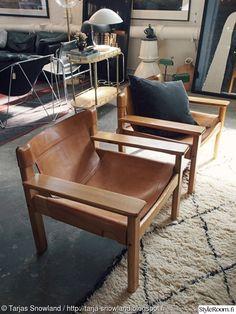 tuoli,vintage,nojatuoli,vanha tuoli,nahkainen nojatuoli