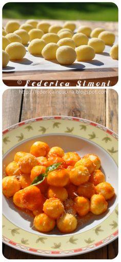 La cucina di Federica: Gnocchetti di semolino